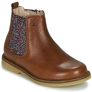 鞋子 女孩 短筒靴 Acebo's 5274-CUERO 棕色
