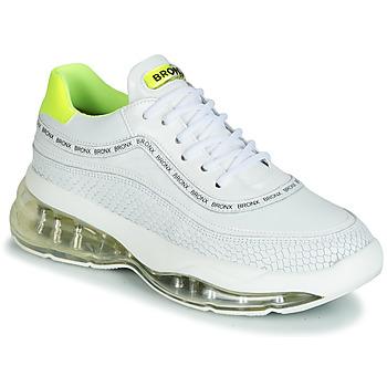 鞋子 女士 球鞋基本款 Bronx BUBBLY 白色 / 黄色