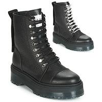 鞋子 女士 短筒靴 Bronx RIFKA SUPER CHUNKY 黑色