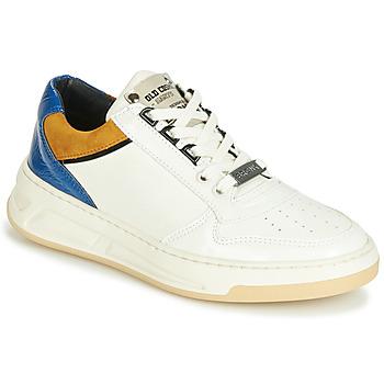 鞋子 女士 球鞋基本款 Bronx OLD COSMO 白色 / 駝色 / 藍色