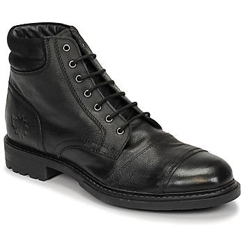 鞋子 男士 短筒靴 Base London REPTON 黑色
