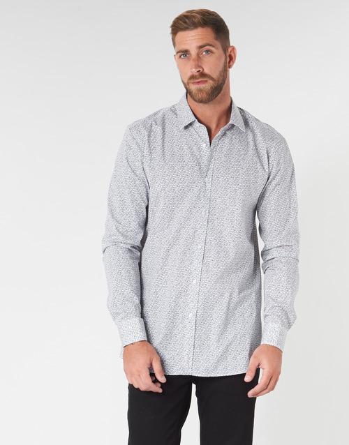 衣服 男士 长袖衬衫 HUGO - Hugo Boss ELISHA02 灰色