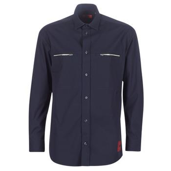 衣服 男士 长袖衬衫 HUGO - Hugo Boss ETRUS 海蓝色