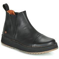 鞋子 女士 短筒靴 Art ORLY 黑色