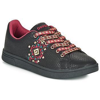鞋子 女士 球鞋基本款 Desigual COSMIC NAVAJO 黑色