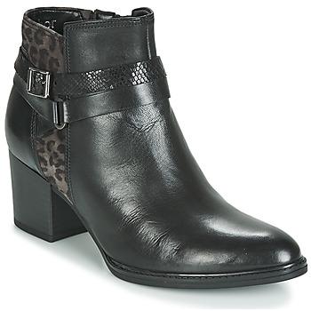 鞋子 女士 短靴 Gabor 嘉宝 3289367 黑色 / Leopard