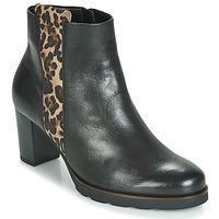 鞋子 女士 短靴 Gabor 嘉宝 3554122 黑色 / Leopard