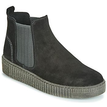 鞋子 女士 短筒靴 Gabor 嘉宝 3373117 黑色