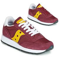 鞋子 女士 球鞋基本款 Saucony JAZZ ORIGINAL VINTAGE 波尔多红 / 黄色