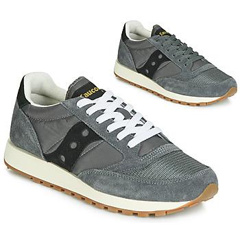 鞋子 球鞋基本款 Saucony JAZZ ORIGINAL VINTAGE 灰色 / 黑色