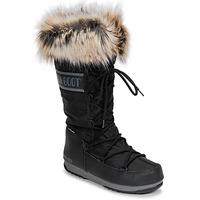 鞋子 女士 雪地靴 Moon Boot MOON BOOT MONACO WP 2 黑色
