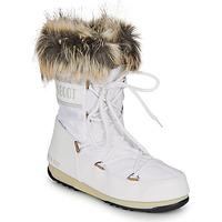 鞋子 女士 雪地靴 Moon Boot MOON BOOT MONACO LOW WP 2 白色