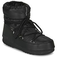 鞋子 女士 雪地靴 Moon Boot MOON BOOT LOW NYLON WP 2 黑色