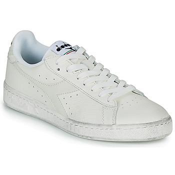 鞋子 球鞋基本款 Diadora 迪亚多纳 GAME L LOW WAXED 白色