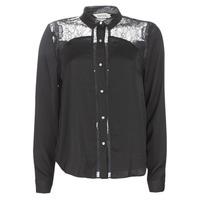 衣服 女士 衬衣/长袖衬衫 Kaporal PARY 黑色