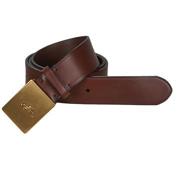 纺织配件 男士 腰带 Polo Ralph Lauren PP PLAQUE-CASUAL-MEDIUM 棕色
