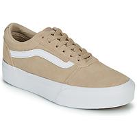 鞋子 女士 球鞋基本款 Vans 范斯 WARD PLATFOR BE 米色