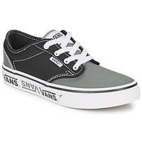 鞋子 儿童 球鞋基本款 Vans 范斯 YT ATWOOD NR 黑色