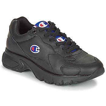鞋子 女士 球鞋基本款 Champion CWA-1 LEATHER 黑色