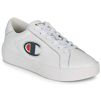 鞋子 女士 球鞋基本款 Champion ERA LEATHER 白色