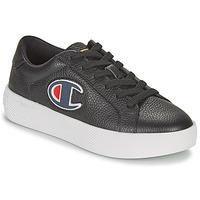 鞋子 女士 球鞋基本款 Champion ERA LEATHER 黑色