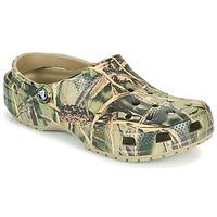 鞋子 男士 洞洞鞋/圆头拖鞋 crocs 卡骆驰 CLASSIC REALTREE 卡其色