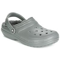 鞋子 洞洞鞋/圆头拖鞋 crocs 卡骆驰 CLASSIC LINED CLOG 灰色