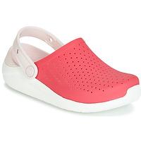 鞋子 女孩 洞洞鞋/圆头拖鞋 crocs 卡骆驰 LITERIDE CLOG K 红色 / 白色