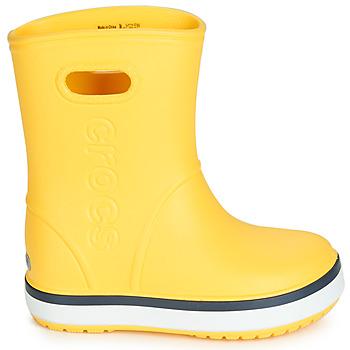 crocs 卡骆驰 CROCBAND RAIN BOOT K