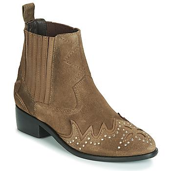 鞋子 女士 短筒靴 Pepe jeans CHISWICK LESSY 棕色