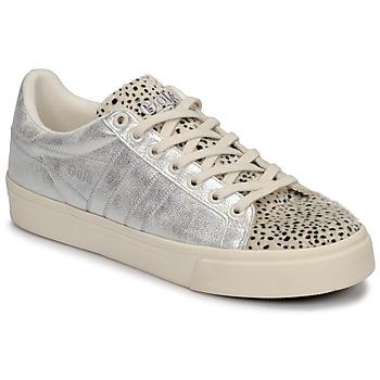 鞋子 女士 球鞋基本款 Gola ORCHID II CHEETAH 白色 / 银色