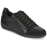 鞋子 女士 球鞋基本款 Geox 健樂士 D MYRIA A 黑色