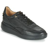 鞋子 女士 球鞋基本款 Geox 健乐士 RUBIDIA 黑色