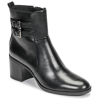 鞋子 女士 短靴 Geox 健樂士 D GLYNNA 黑色