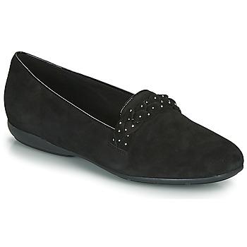 鞋子 女士 平底鞋 Geox 健樂士 D ANNYTAH 黑色