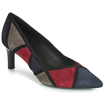 鞋子 女士 高跟鞋 Geox 健樂士 D BIBBIANA 海藍色 / 波爾多紅