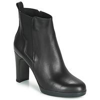 鞋子 女士 短靴 Geox 健樂士 D ANNYA HIGH 黑色