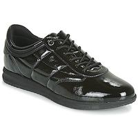 鞋子 女士 球鞋基本款 Geox 健樂士 D AVERY 黑色