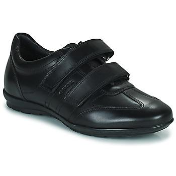 鞋子 男士 德比 Geox 健乐士 UOMO SYMBOL 黑色