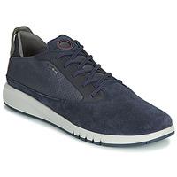 鞋子 男士 球鞋基本款 Geox 健樂士 U AERANTIS 海藍色
