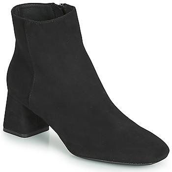 鞋子 女士 短靴 Geox 健樂士 D SEYLA 黑色