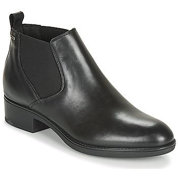 鞋子 女士 短筒靴 Geox 健樂士 D FELICITY NP ABX C 黑色
