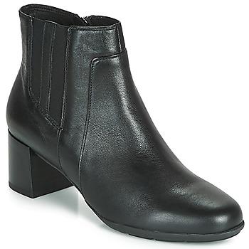 鞋子 女士 短靴 Geox 健乐士 NEW ANNYA MID 黑色