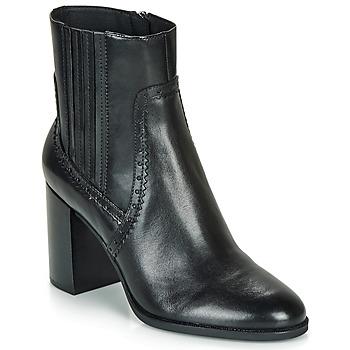 鞋子 女士 短靴 Geox 健樂士 D JACY HIGH 黑色