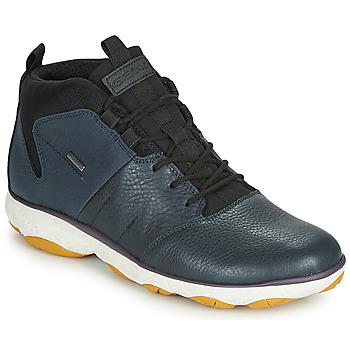鞋子 男士 短筒靴 Geox 健樂士 U NEBULA 4 X 4 B ABX 海藍色
