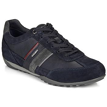 鞋子 男士 球鞋基本款 Geox 健樂士 U WELLS 海藍色