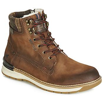 鞋子 男士 短筒靴 Mustang 4141602-362 棕色