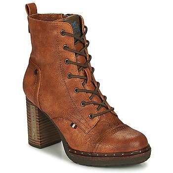 鞋子 女士 短靴 Mustang 1336502-309 棕色