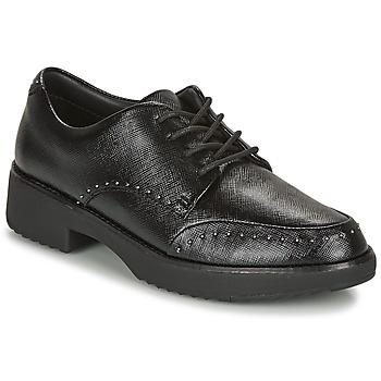 鞋子 女士 德比 FitFlop KEELY MICROSTUD BROGUES 黑色