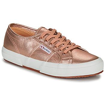 鞋子 女士 球鞋基本款 Superga 2750 COTMETU 玫瑰色